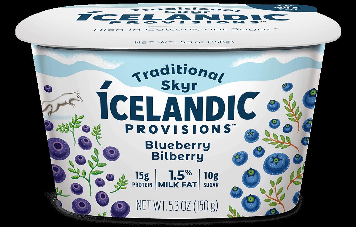 Blueberry Bilberry Skyr | Icelandic